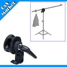 New Single Grip Head Angle Clamp for Photography Studio Boom Reflector Arm Stand