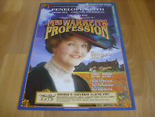 Mrs WARREN's PROFESSION  Penelope Keith  1997 Theatre Royal BATH Original Poster