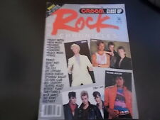 Boy George, The Police, Def Leppard - Creem Rock Chronicles Magazine 1984
