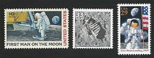 Apollo 11 First Man on the Moon Walk Footprint NASA Space Stamps MINT CONDITION!