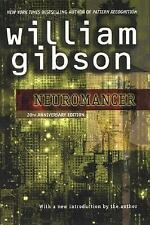 William Gibson  Neuromancer  Signed 20th Anniversary Edition NF