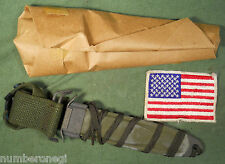 "Mint 1969 USM8A1 TWB Scabbard For M3 M4 M5 M6 M7 Knife ""The Workhouse Blind"""