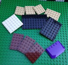 Lego City Town Assorted Baseplates Base Plates Star Wars Castle Kingdoms Friends