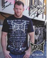 RYAN BADER UFC MIXED MARTIAL ARTS SIGNED PHOTO AUTOGRAPH THE ULTIMATE FIGHTER