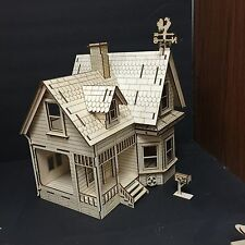 Disneys Up Dollhouse 3D Wood Puzzle
