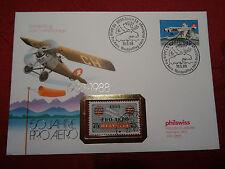 50 Jahre Pro Aero mit Briefmarke 1938 gestempelt