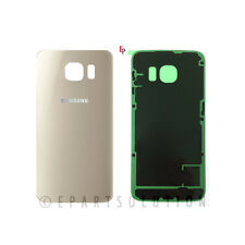 Gold Back Glass Cover Battery Door For Samsung Galaxy S6 Edge G925 Repair Part