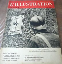 Revue L' ILLUSTRATION 1939, début de guerre…World FREE Shipping*