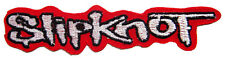 New Slipknot Heavy Metal Rock Band embroidered iron on patch. 5 x 1 inch (i38)