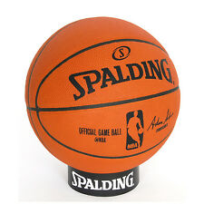 Spalding 2015 NBA Official Leather Game Ball Basketball 74-569Z W/ Free Tracking