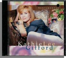 Kathie Lee Gifford -- Sentimental - New 1992 CD- Over the Rainbow, Had to Be You