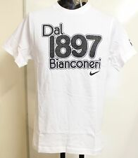 JUVENTUS WHITE S/S 1897 COTTON TEE BY NIKE ADULTS SIZE SMALL BRAND NEW