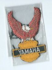 Yahama motorcycle rider patch 3 X 1-7/8 #312