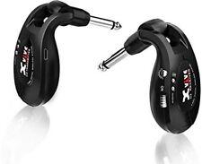 Xvive U2 Rechargeable Digital 2.4Ghz Wireless Guitar System(Black)
