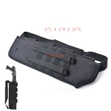 Tactical Rifle Shotgun Scabbard Bag MOLLE straps Shoulder Sling Padded Case