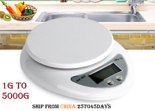 Digital Kitchen scale 5000g/1g 5kg Food Diet Electronic Scales balance Weight gr