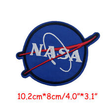NASA Space Program Vector Patch Astronaut Spaceship Embroidery Emblem