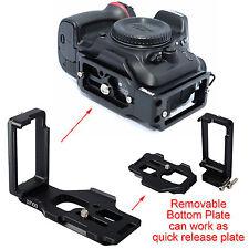 Plateau Rapide Camera Support Poignée forTrépied Rotule Nikon D7200 D7100 D7000