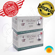 TE CHINO DEL DR MING 60 bags natural sliming tea diet detox fatburner weightloss