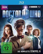 6 Blu-rays * DOCTOR WHO - DIE KOMPLETTE STAFFEL 6 # NEU OVP WVG