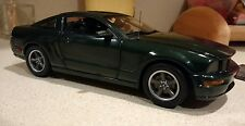 FRANKLIN MINT 2008 FORD MUSTANG GT L/E OF 5000 STEVE MCQUEEN BULLITT 1/24  NEW!