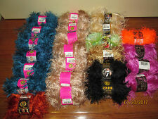 LOT OF 3 SKEINS LION BRAND FUN FUR EYELASH YARN U PICK COLORS NEW