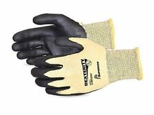 DEXTERITY SUPERIOR PROTECTIVE GLOVES WITH KEVLAR KNIT (SIZE 9/Large) Lot of 6 pr