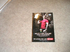 Wales v New Zealand Saturday November 24 2012 Dove Series Match Programme