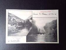 CPA Bateliers remontant le Tarn a vide Sortie du détroit les gorges du Tarn