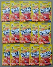 15 packets of KOOL-AID drink mix: PEACH MANGO flavor, powdered, UNSWEETENED