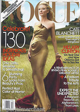 Vogue magazine Cate Blanchett Hillary Clinton Holiday gift guide Arts tribute