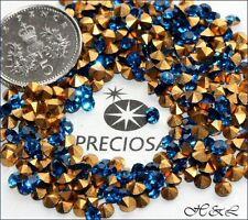 48 Preciosa Optima vintage ss12 Capri Blue MC crystal Chatons GF12ss pp24