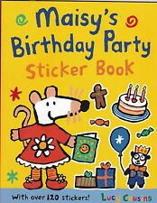 Maisy's Birthday Party Sticker Activity Book by Lucy Cousins (Paperback) New