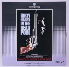 F/S by Air VG DIRTY HARRY IN THE DEAD POOL Clint Eastwood David Valdes Laserdisc