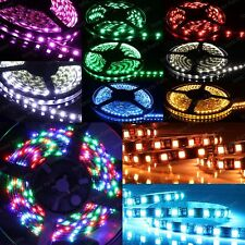 5m RGB 3528 SMD LED 300 LEDs Waterproof Flexible 3M Self Adhesive Light Strip