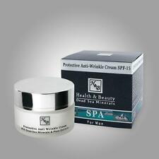 ISRAEL DEAD SEA MINERALS PROTECTIVE ANTI-WRINKLE MEN FACE CREAM WITH UV FILTER