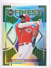 2015 Topps Finest Brandon Phillips 1995 Reprint Refractor #D08/25 #94F11 *51045