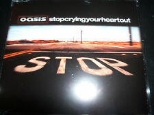 Oasis Stop Crying Your Heart Out Australian 3 Track CD Single