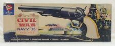 Pyro 1:1 Civil War Navy 36 Gun Plastic Model Kit #C208U