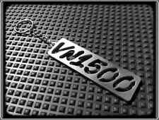 KEYRING for KAWASAKI VN1500 VULCAN VN - STAINLESS STEEL - HAND MADE - CHAIN FOB