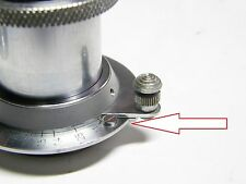 Short screw for Leica Elmar 50mm lens, repair parts