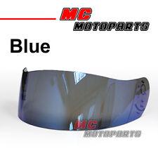 Bleu Visière casque pour For AGV XR-2 S4 Ti-TECH Q3 S R Argon Ghost Stealth BOLT