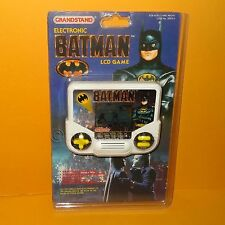 VINTAGE TIGER Grandstand ELETTRONICO BATMAN palmare LCD Video Game cardati Retrò