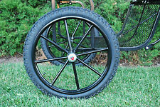 """Pair Horse Cart Motorcycle Tire and Rim 2.75""""-21"""", 5/8"""" or 3/4"""" Axle, 3 3/8"""" Hub"""