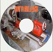 HOW TO RUN A LATHE Instructions on CD