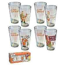 Homer Simpson Holiday Glass Set of 4 - Assorted (16oz)