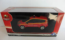RENAULT GRAND SCENIC VLM VEHICULE LIAISON MEDICALISE SOLIDO POMPIERS I 1/43