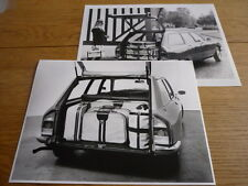 CITROEN GS ESTATE PRESS PHOTOGRAPHS x 2 BROCHURE RELATED jm