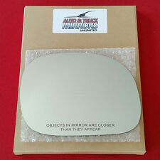 NEW Mirror Glass + ADHESIVE 97-03 FORD F150 Passenger Right Side MANUAL