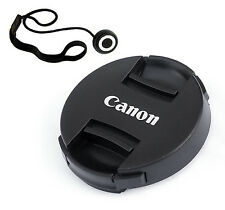 58mm Snap-On Front Lens Cap Keeper 4 Canon 18-55mm EOS Rebel T4i T3 T3i T2i T5i